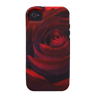 Caja dura color de rosa híbrida (iPhone 4) Case-Mate iPhone 4 Fundas