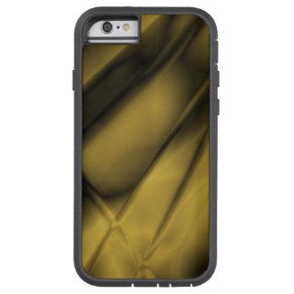 Caja dura coloreada latón Antiqued extracto del Funda Tough Xtreme iPhone 6