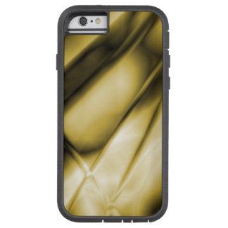 Caja dura coloreada oro abstracto del iPhone Funda Tough Xtreme iPhone 6