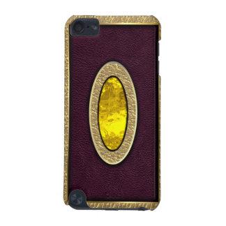 Caja dura de cristal amarilla de iPod Shell