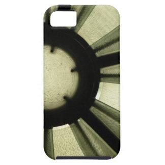 Caja dura de la oscuridad de la casamata abstracta funda para iPhone SE/5/5s