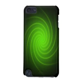 Caja dura de neón verde de iPod Shell