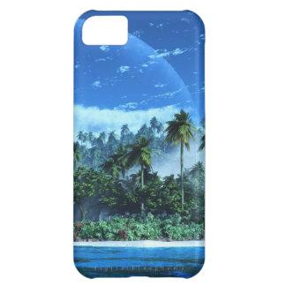 Caja dura del atolón (logotipo del iPhone 5) Funda Para iPhone 5C
