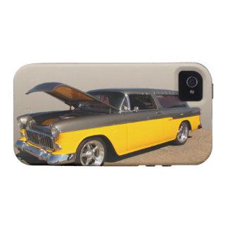 Caja dura del carro del ~ de la casamata clásica vibe iPhone 4 fundas