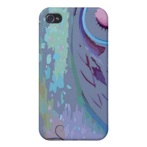 Caja dura Tela-Embutida Fitted™ de Speck® Shell iPhone 4 Carcasas