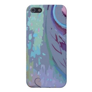 Caja dura Tela-Embutida Fitted™ de Speck® Shell iPhone 5 Cárcasas