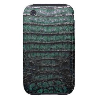 Caja dura verde del iPhone 3G/3GS de la piel del iPhone 3 Tough Funda