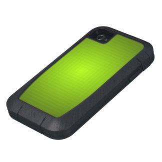 Caja dura verde metálica del iPhone 4 de Xtreme