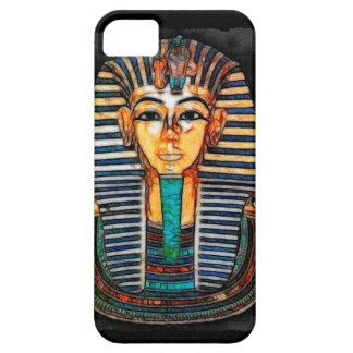 Caja egipcia antigua del teléfono de Tutankhamun d iPhone 5 Case-Mate Cárcasas