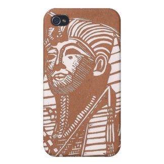 Caja egipcia de la mota del iphone 4 del sarcófago iPhone 4 carcasa