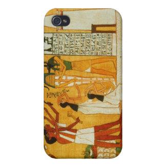Caja egipcia de la mota iPhone 4 carcasas