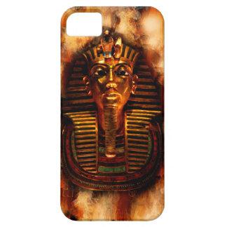 Caja egipcia llameante del teléfono de Tutankhamun Funda Para iPhone SE/5/5s