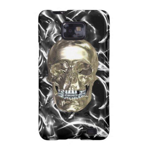 Caja eléctrica de la galaxia de Samsung del cráneo Carcasa Para Samsung Galaxy S2
