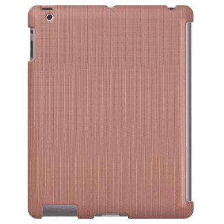 Caja elegante de iPod del modelo de las rayas de Funda Para iPad