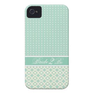 Caja elegante del teléfono celular del boda Case-Mate iPhone 4 cárcasas