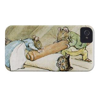 Caja elegante del teléfono del pudín Case-Mate iPhone 4 cárcasa