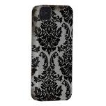 Caja elegante llevada negra del iphone 4 del model Case-Mate iPhone 4 fundas