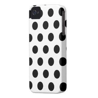 Caja elegante y colorida del iPhone 4/4s del lunar iPhone 4 Case-Mate Cárcasa