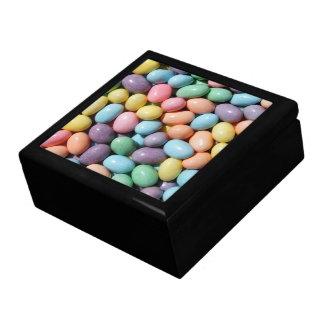 Caja en colores pastel de las habas de jalea caja de regalo