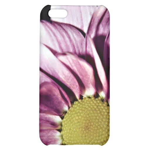 Caja en colores pastel del iPhone 5 del crisantemo