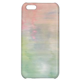 Caja en colores pastel del teléfono de la pintura