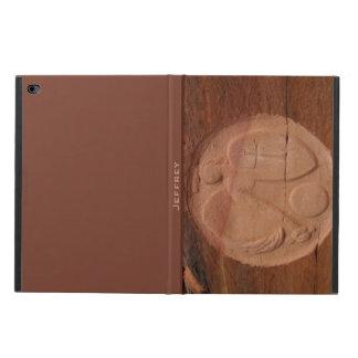 caja en folio del aire 2 del iPad, ángel en las