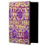 Caja en folio del aire del iPad de Boho de la tapi