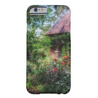 Caja encantada del iPhone 6 del jardín de flores