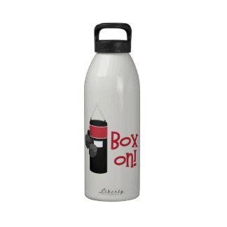 ¡Caja encendido! Botella De Agua Reutilizable