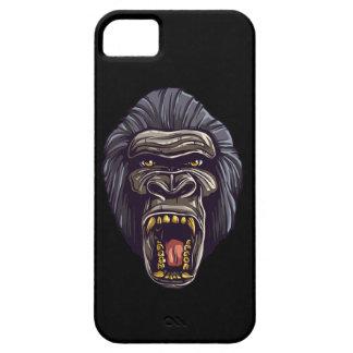 Caja enojada del teléfono del gorila funda para iPhone SE/5/5s