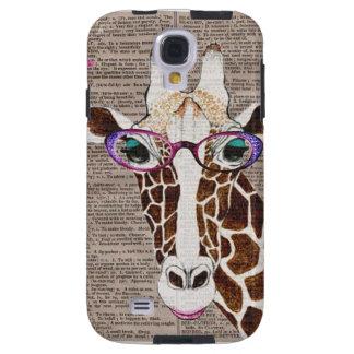 Caja enrrollada alterada del teléfono de la jirafa