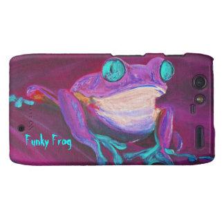 Caja enrrollada colorida del teléfono de Motorola  Droid RAZR Carcasas