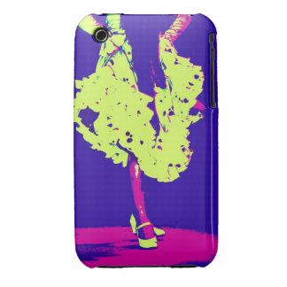 caja enrrollada de la casamata del flamenco Case-Mate iPhone 3 protectores