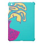 Caja enrrollada de la mota del iPad de la flor