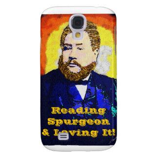 Caja esencial de la mota del iPhone de Spurgeon 3G Funda Para Galaxy S4