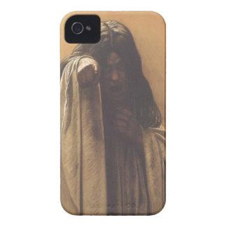 Caja espeluznante de Blackberry con el chica fanta Case-Mate iPhone 4 Protector