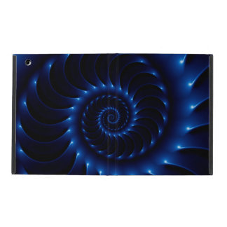 Caja espiral azul brillante del iPad 2/3/4 del