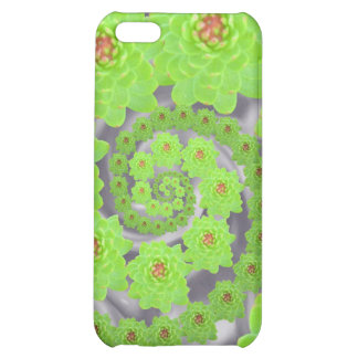 Caja espiral verde del iPhone de la danza