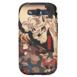 Caja esquelética de la galaxia de Kuniyoshi Samsun Samsung Galaxy S3 Protector