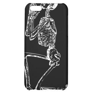 Caja esquelética de rogación de la mota del iPhone