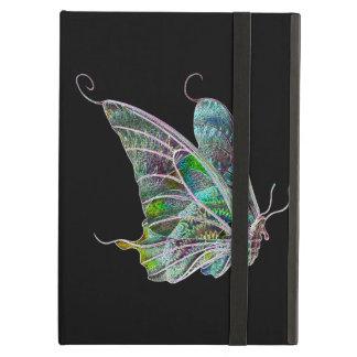 Caja exótica personalizada del iPad de la mariposa