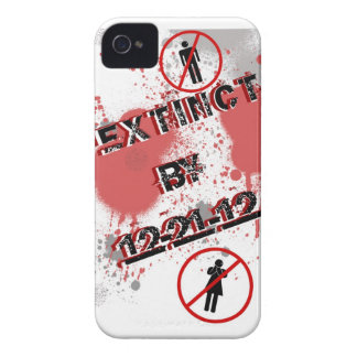 Caja extinta 12-21-12 de Blackberry iPhone 4 Case-Mate Fundas