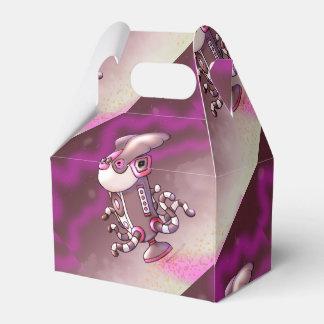 Caja EXTRANJERA del favor del ROBOT del DIBUJO Cajas Para Regalos De Fiestas