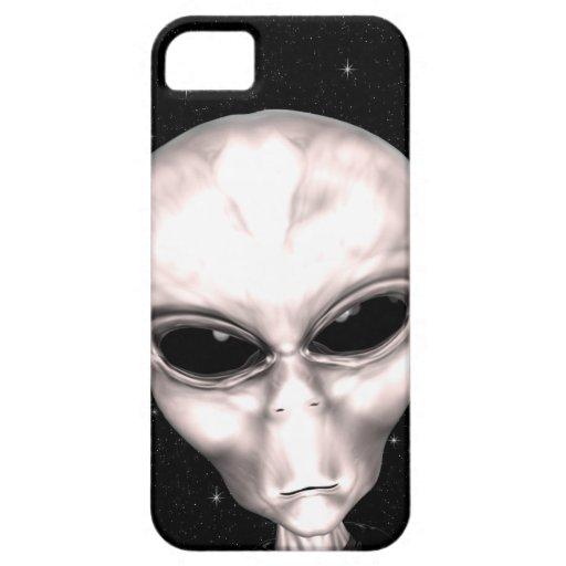 Caja extranjera gris del iPhone 5 del espacio iPhone 5 Case-Mate Cobertura