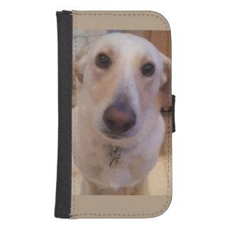 Caja extrema de la cartera del teléfono del perro fundas billetera de galaxy s4