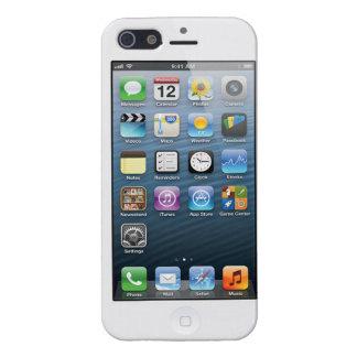 Caja falsa de la pantalla de inicio de Iphone 5 iPhone 5 Carcasa