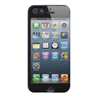 Caja falsa de la pantalla de inicio de Iphone 5. iPhone 5 Carcasas