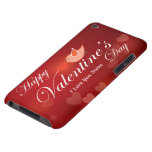 Caja feliz de la casamata del el día de San Valent Case-Mate iPod Touch Cárcasas