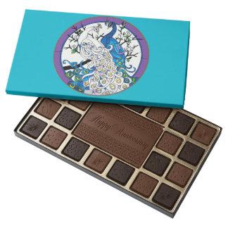 Caja feliz del chocolate del aniversario de caja de bombones variados con 45 piezas