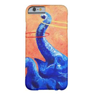 Caja feliz del teléfono del elefante: funda barely there iPhone 6